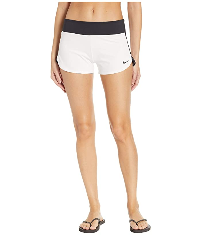 Nike Solid Shorts Cover-Up (White) Women