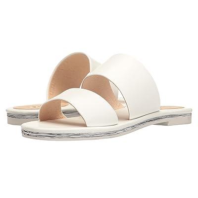 Shellys London Davan Slide (White Leather) Women