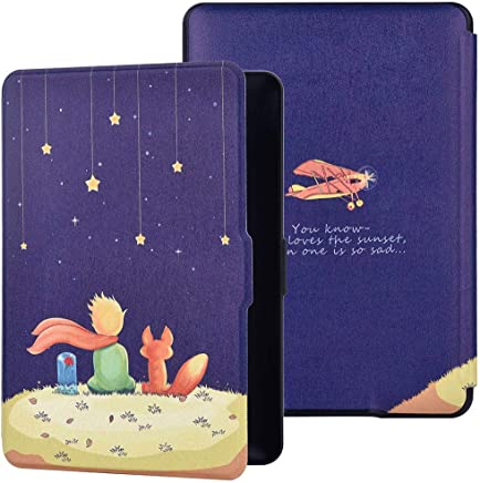 Case for Amazon Kindle Paperwhite 2/3 - Book Style PU+PC Leather Protective e-Reader Cover Folio Case