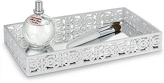 DWËLLZA HOMË Vanity Shelf Mirror Tray for Dresser (11