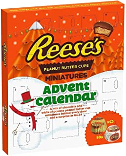 Reese's Peanut Butter Cups Advent Calendar 250g Christmas 2018 Edition チョコレート アドベントカレンダー