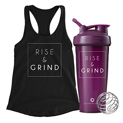 3a85fc6859b93 Women s Motivational Quote Workout Tank Top Black Racerback Graphic  Exercise Tops
