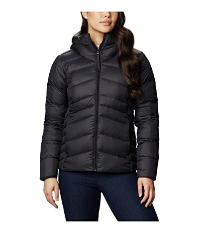 Columbia Autumn Park Down Hooded Jacket (Black/Shark) Women