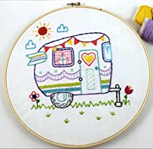 Embroidery Kit for Beginner Cute Animal Design DIY Home Wall Decor Let's Go!