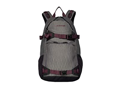 Burton Riders Pack 25L (Castlerock Heather) Backpack Bags
