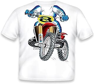 Little Boys' Motocross T-Shirt