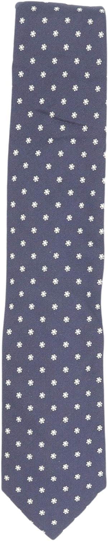 Bigi Cravatte-Milano Men's Raised Micro Flowers Silk Necktie