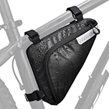 WOTOW Bike Storage Frame Bag, Bicycle Front Tube Triangle...