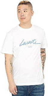 Lacoste Men's Short Sleeve Script Graphic T-Shirt