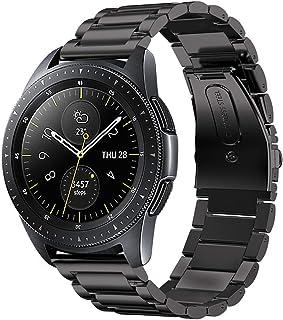 iBazal 20 mm metalowa bransoletka do zegarka Samsung Galaxy Watch 3 41 mm/Samsung Galaxy 42 mm SM-R810/Active 40 mm/Huawei...