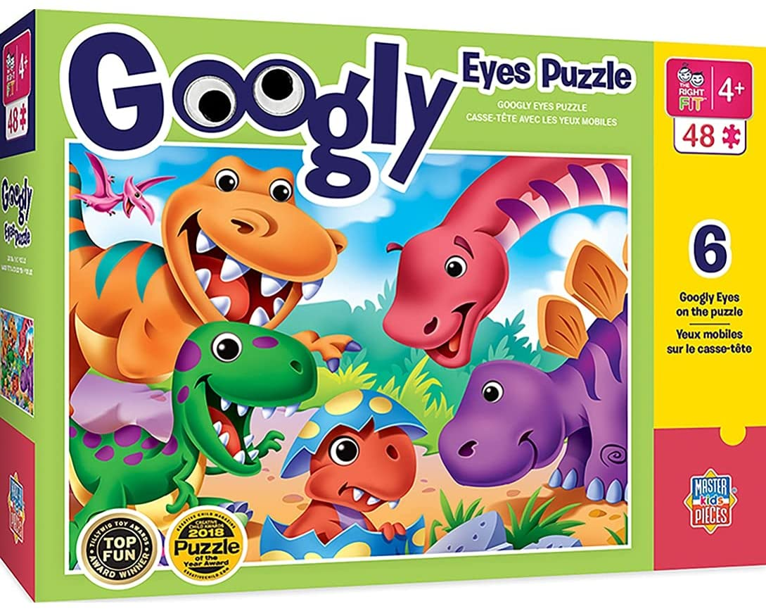 Superior MasterPieces Googly Eye Cheap bargain 48 Right Collection Puzzles Fit - Dinosa
