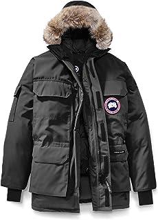 [カナダグース] CANADA GOOSE Men`s Expedition Relaxed Fit Genuine Coyote Fur Trim Down Jacket メンズパーカー [Graphite] [並行輸入品]