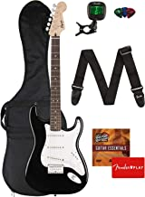 Best Fender Squier Bullet Stratocaster Hard Tail - Black Bundle with Gig Bag, Tuner, Strap, Picks, and Austin Bazaar Instructional DVD Review