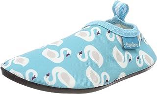Playshoes Zapatillas de Agua con Protección UV Cisne, Zapatos para Playa Niñas