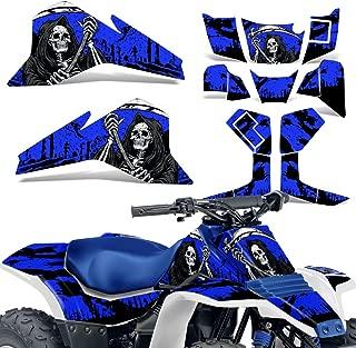 Suzuki LT80 87-06 Graphic Kit ATV Decals Sticker Wrap Quadsport LT 80 REAPER BLUE