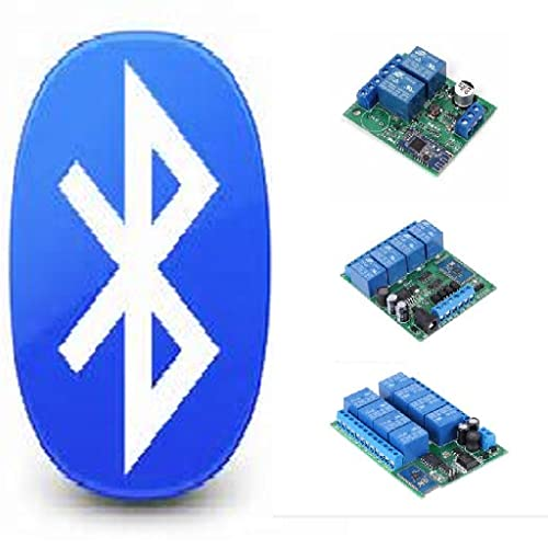 Bluetooth Relay Controller 2 / 4 / 8 - Bluetooth Switch Controller 2 - 4 - 8