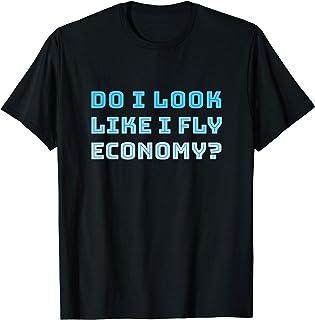 Ai-je l'air de voyager en classe économique? - Drôle T-Shirt