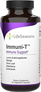 LifeSeasons - Immuni-T - Immune System Booster Supplement - Cold and Flu Season Support - Rapid Immune Response - Androgra...