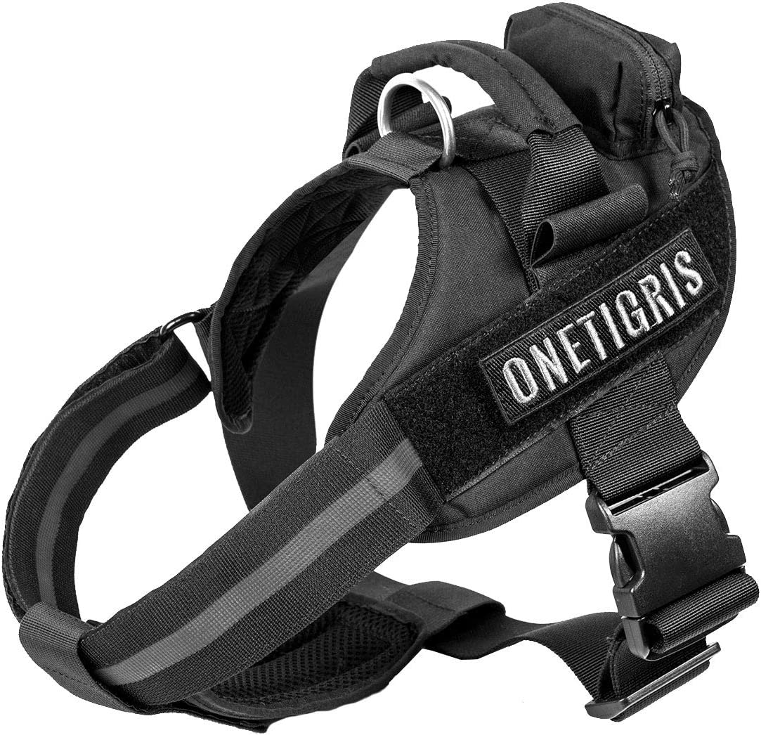 OneTigris Service Vest Dog Limited time sale Harness Pull Han No with Boston Mall