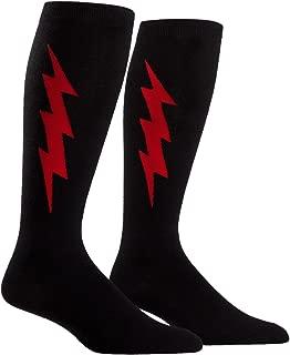 lightning bolt knee high socks