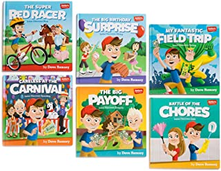 Junior's Adventures: Storytime Book Set: Teaching Kids How to Win with Money!