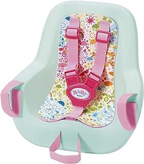 Zapf Creation 827277 Baby born Play & Fun fietsstoel met gordelsysteem, snel en eenvoudig aan te brengen, poppenaccessoire...