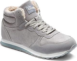 comprar comparacion Gaatpot Zapatos Invierno Botas Forradas de Nieve Zapatillas Sneaker Botines Planas para Adulto Unisex 36-48