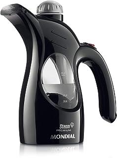 Vaporizador de Roupas Mondial, Steam Premium, Bivolt, Preto/Prata, 800W - VP-01