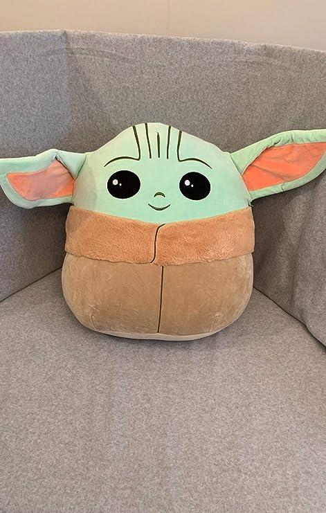 "Baby Yoda The Child NWT KellyToy Squishmallow Star Wars Mandalorian 5/""in .."