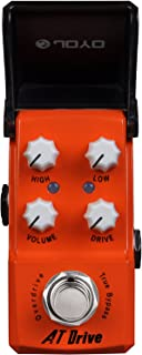 JOYO JF-305-ATDrive - Pedal de efecto overdrive para guitarra, color rojo