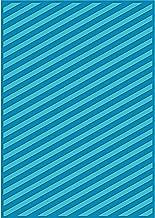 Craftwell USA Teresa Collins Embossing Folder, Modern Stripe