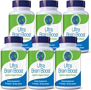 Sponsored Ad - Ultra Brain Boost | All Natural Memory Support Supplement | Boost Brain & Cognitive Function| Improve Focus...