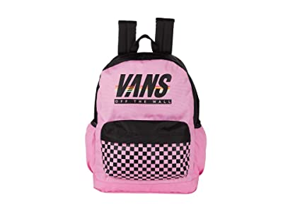 Vans Sporty Realm Plus Backpack (Fuchsia/Pink/Sport Stripe) Backpack Bags