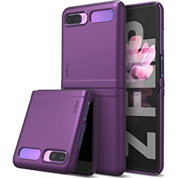 Ringke Slim Compatible with Galaxy Z Flip Case 5G (2020) - Purple
