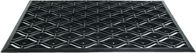 Imports Decor Rubber Doormat, Eyepin, 22-Inch by 36-Inch