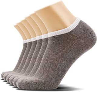 SOXTOWN Men's Low Cut Athletic Cotton Socks,6 Pairs Super Soft Durable No Show Casual Socks