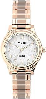 Timex Womens Quartz Watch, Analog Display And Stainless Steel Strap - TW2U09100