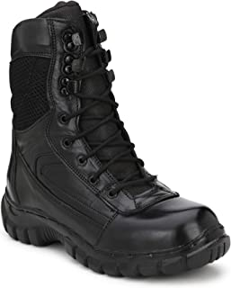 Fashion Tree Timberwood Genuine Leather Army Combat Trekking Hiking and Biker Boot for Men