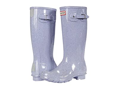 Hunter Kids Original Giant Glitter Wellington Boots (Little Kid/Big Kid) (Pulpit Purple) Girls Shoes