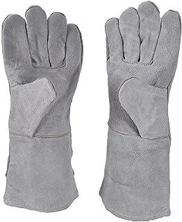 "13"" Heat Resistant Safety Melting Furnace Gloves Refining Casting Gold Silver Copper"