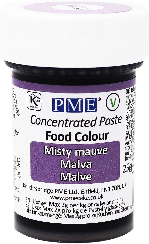 Colorante Alimenticio PME Malva de Niebla 25 g: Amazon.es ...