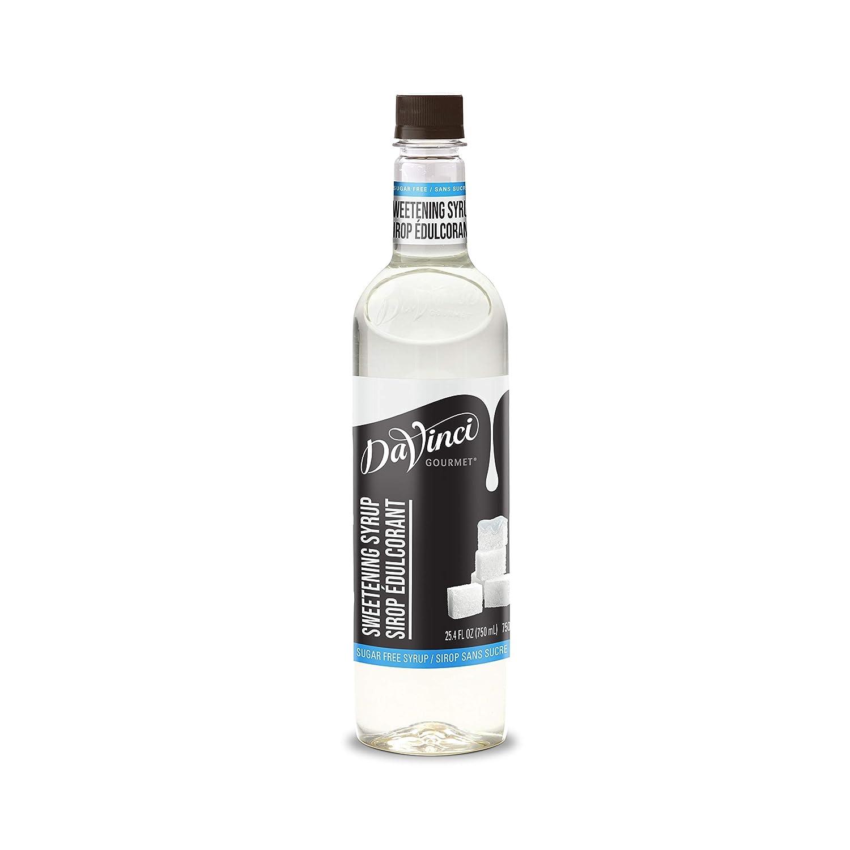 DaVinci Gourmet Sugar-Free Sweetener Syrup, 25.4 Ounce (Pack of 4)