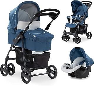 Hauck carro Shopper SLX trioset, coche de bebes 3 piezas de