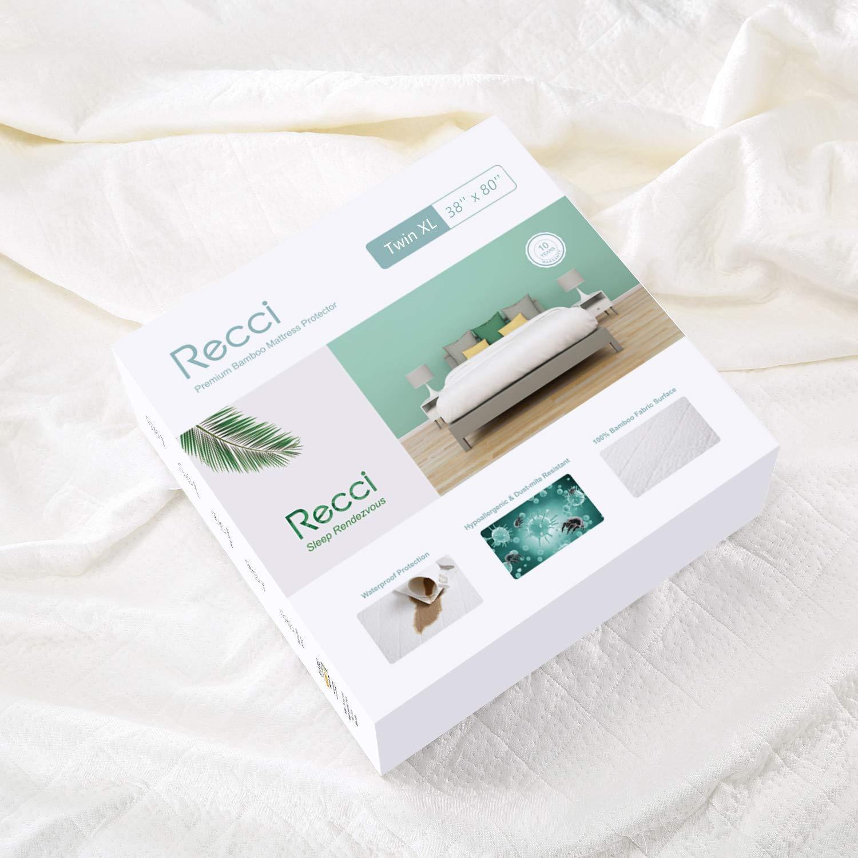 Recci Premium Bamboo Mattress Protector