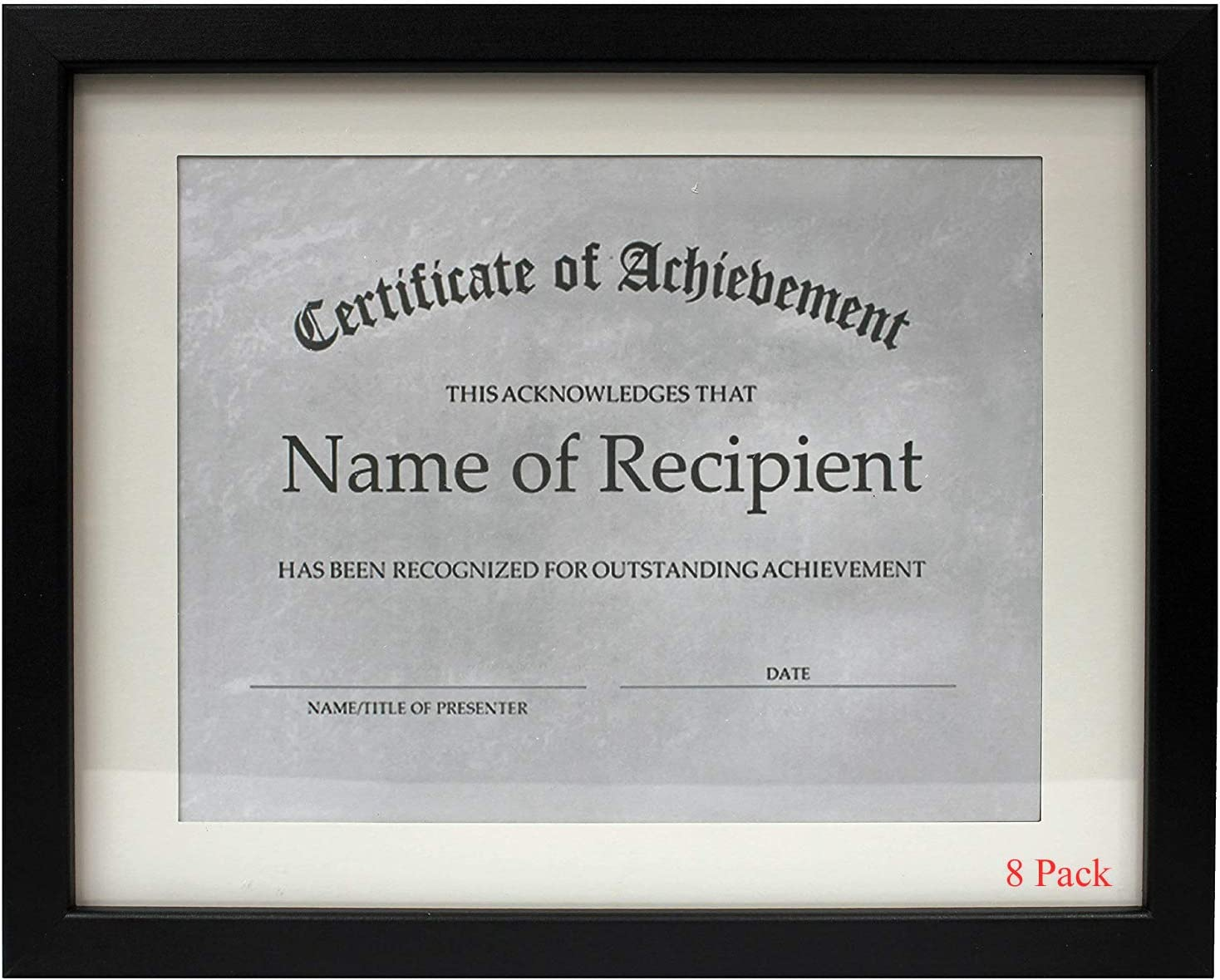 online shop DisplayGifts 11x14 Document Frame - or Made for Award a Certi