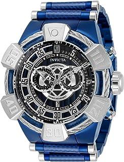 ساعة انفيكتا للرجال جيه تي كوارتز ستانلس ستيل بسوار من الياف الكربون - ازرق، 32 (32833)