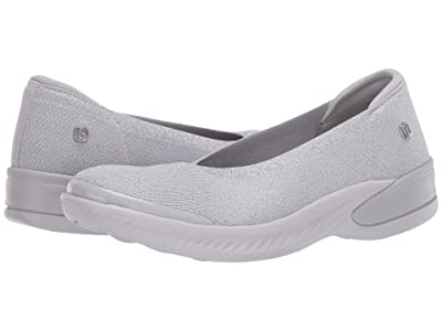 Bzees Nutmeg (Grey Silver Metallic Knit) Women