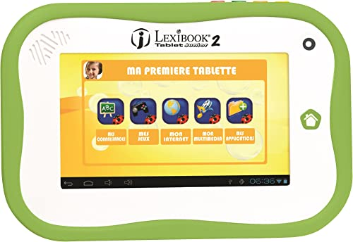 Lexibook- MFC280FR Spiel elektronische Tablet Junior 2 7 ll Version fr- zuf ige Farbauswahl