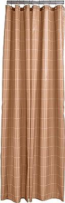 ゾーン(Zone) アンバー 200x180cm シャワーカーテン TILES 331845