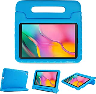 ProCase Kids Case for Galaxy Tab A 10.1 2019 T510 T515 T517, Shock Proof Convertible Handle Stand Cover Light Weight Kids ...